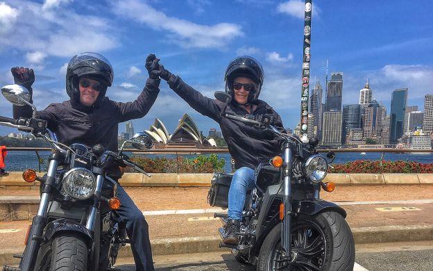 Cruisin' Along the Coast: Bondi Beach Guided Motorcycle Tour
