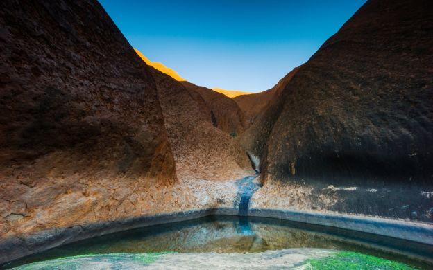 Uluru Sunset, Mutitjulu Walk and Cultural Centre Visit