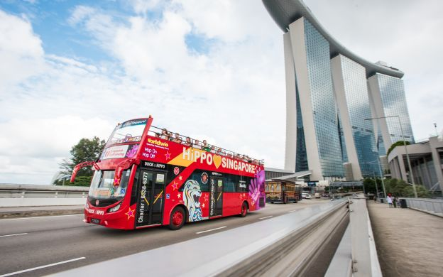 City Sightseeing Singapore: Hop-On, Hop-Off Bus Tour