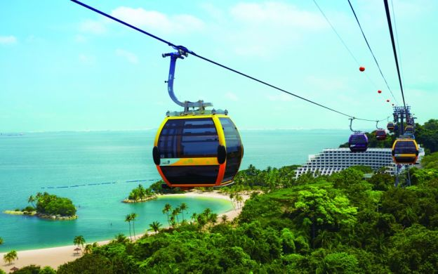 2-Way Sentosa to Faber Peak Cable Car Ride with Shuttle Transfer