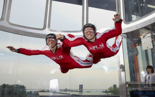 Singapore iFly: Indoor Skydiving Admission Ticket