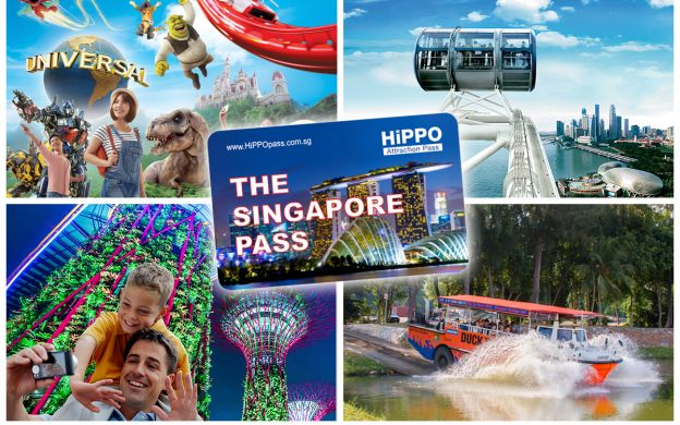 HiPPO Singapore Pass: Choose 3 or 5 Attractions and Premium Experience