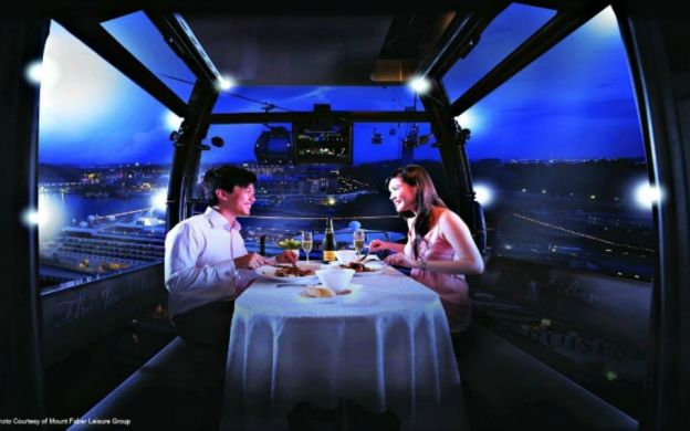 Singapore Cable Car Sky Dining Experience