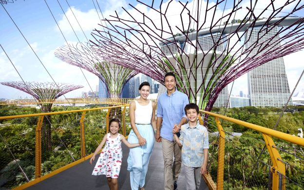 Gardens by the Bay Entrance E-ticket with OCBC Skyway