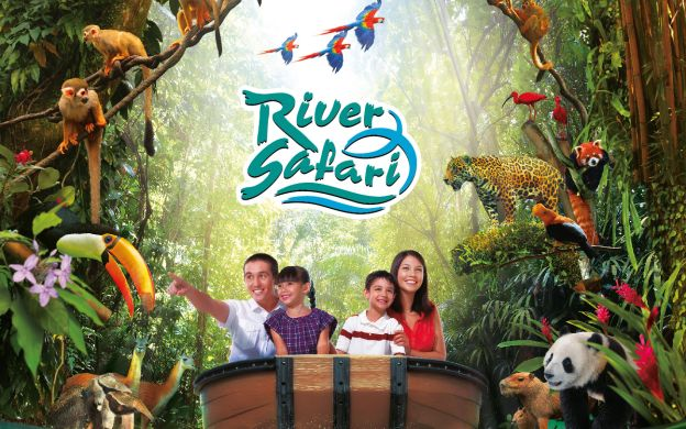 Singapore River Safari - Guided Tour with Hotel Transfers