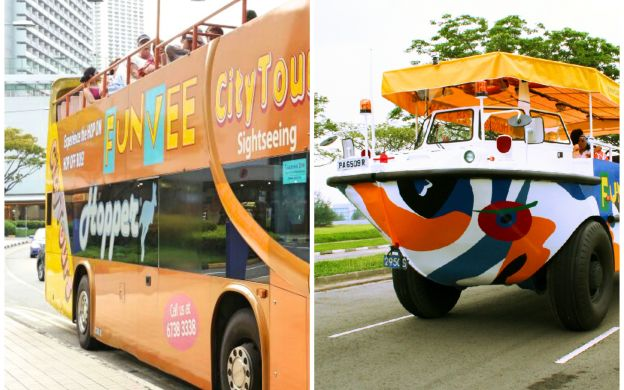 FunVee Hop-On, Hop-Off Bus and Captain Explorer DUKW Tour
