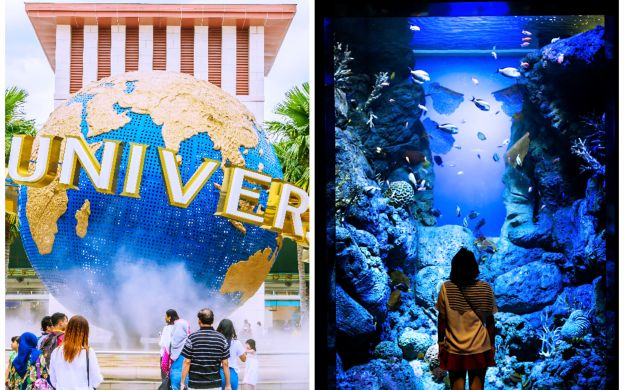 Saver Combo: Universal Studios Singapore™ & S.E.A. Aquarium Tickets