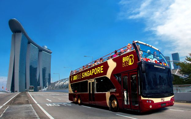 Big Bus Singapore: Open Top Tour