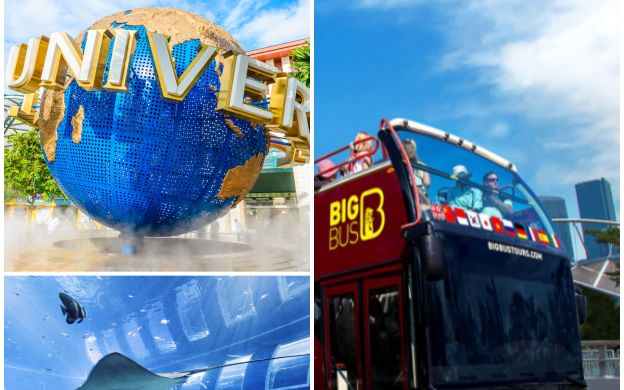 Big Bus Singapore: Hop-On, Hop-Off Bus, Universal Studios Singapore™ & S.E.A. Aquarium