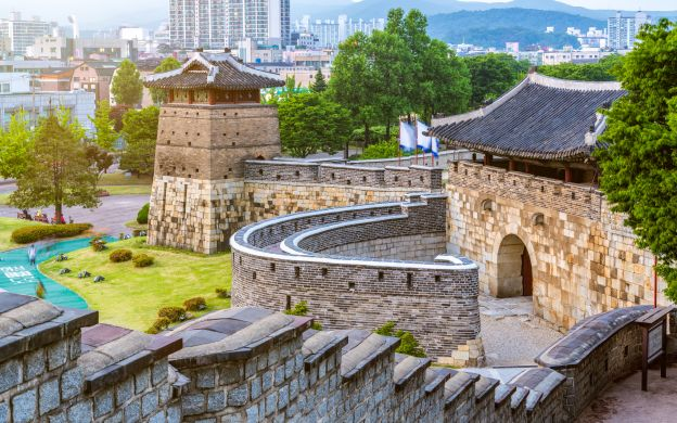 Suwon Hwaseong Fortress Tour with Hotel Transfers