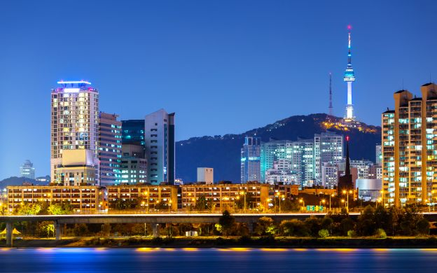 Seoul Night View Tour: Hangang River Cruise & N Seoul Tower Observatory with Dinner and Hotel Transfers