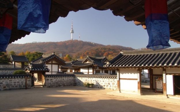 Seoul Panorama Tour: N Seoul Tower, Namsan Hanok Village and Namdaemun Market