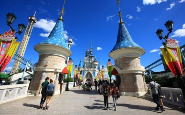 Lotte World Adventure Ticket with Hotel Transfers