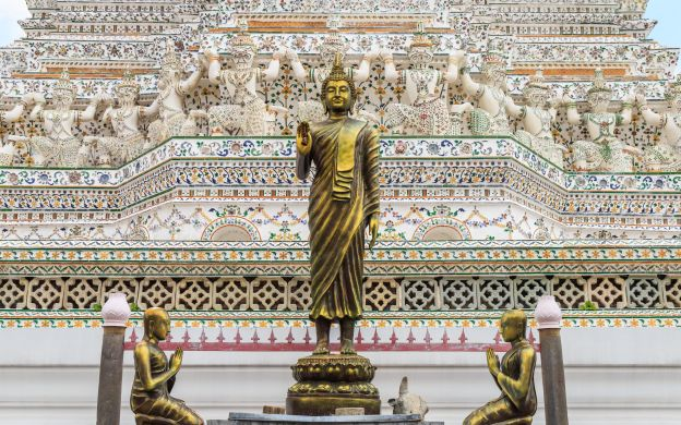 Bangkok City Sightseeing: Buddhist Temples and Klongs Tour