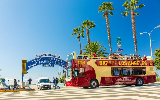 Big Bus Los Angeles Hop-on, Hop-off Tour