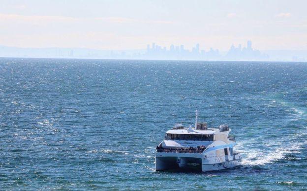 The Q Train - Sail, Rail & Dine from Melbourne