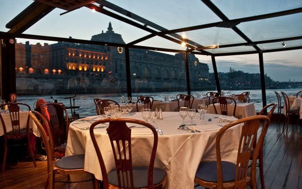 Dinner Cruise on the Paris Seine River with Choice of 3 Menus - Marina de Paris