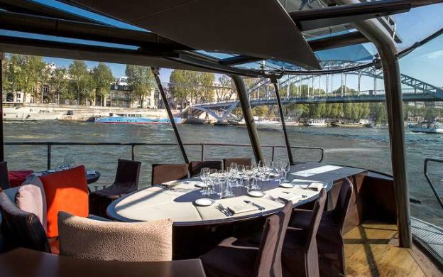 Lunch Cruise on Seine River with Optional Drinks - Marina de Paris