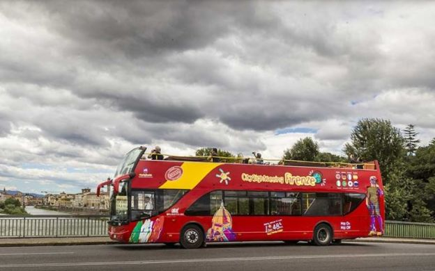 City Sightseeing Florence: Hop-on, Hop-off Bus Tour