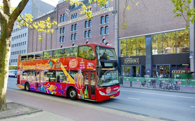 City Sightseeing Amsterdam: Hop-On, Hop-Off Bus