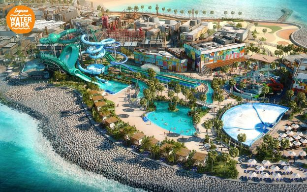 Dubai La Mer Laguna Waterpark Ticket with Meals