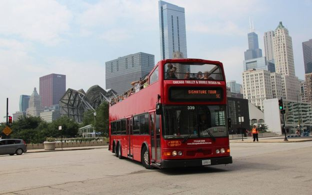 City Sightseeing Chicago Hop On Hop Off Bus Ticket