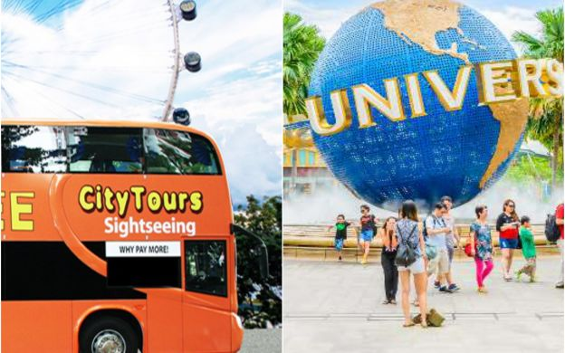 FunVee Hop-On, Hop-Off Bus & Universal Studios Singapore Admission