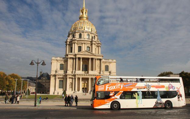 Foxity Paris: Hop-On, Hop-Off Tour