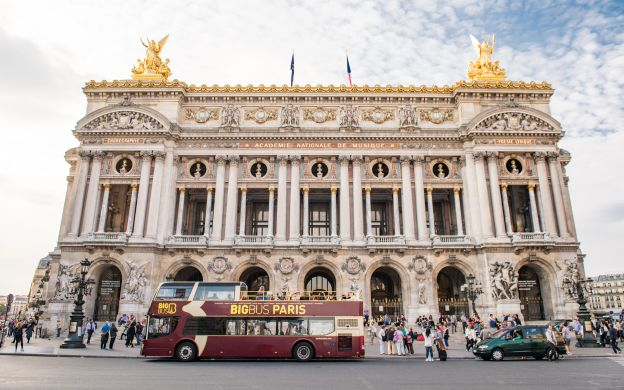 Big Bus Paris: Hop-On, Hop-Off Tour - 25% OFF!