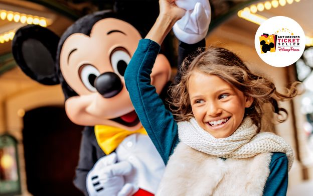 Disneyland® Paris 1 Day Ticket for 1 or 2 Parks - Adult for the Price of Child!
