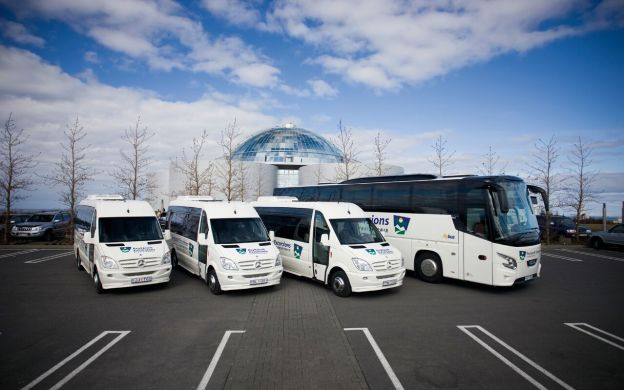 Keflavik Airport & Bus Terminal One-Way Flybus Shuttle Transfer, Reykjavik