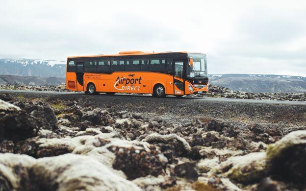 Transfer between Keflavik International Airport and Reykjavik Hotels