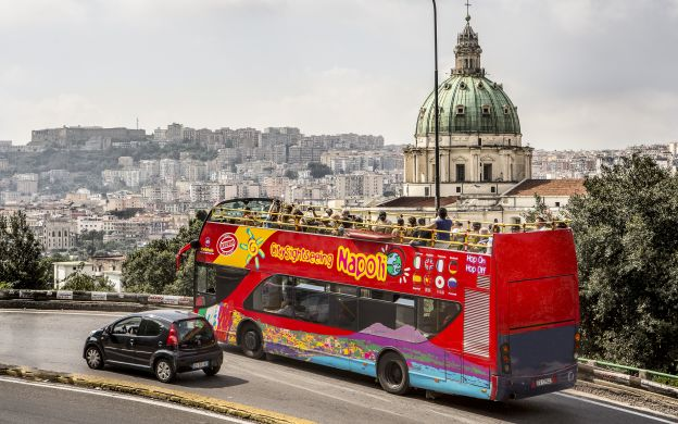 City Sightseeing Naples: Hop-On-Hop-Off Bus Tour