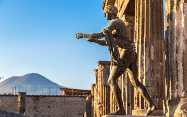 Pompeii Day Tour and Transfer to Naples - From Rome