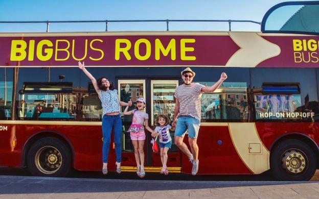 Big Bus Rome: Hop-On, Hop-Off Bus