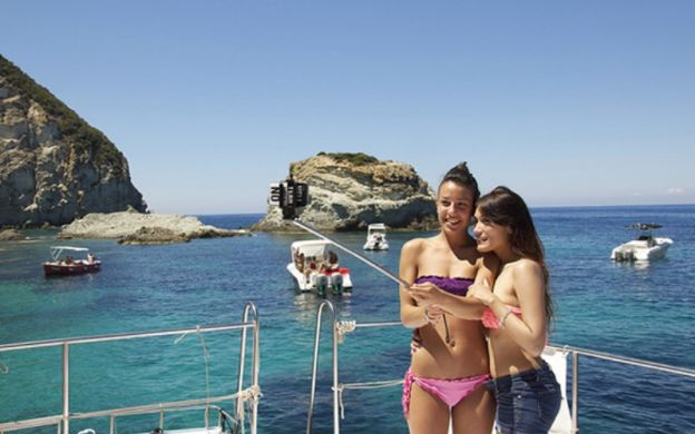 A Spoonful of Sea: Full Day Sailing Tour around Ponza Island with Swimming and Sightseeing + Italian Lunch + Snorkelling Upgrades