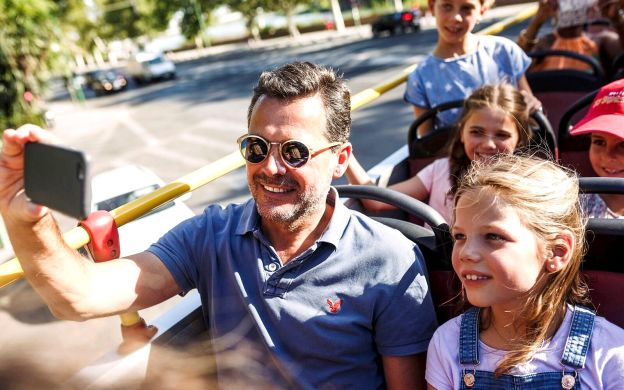 City Sightseeing Rome (3-in-1): Hop-On, Hop-Off Bus + Vatican Museum + Colosseum Ticket
