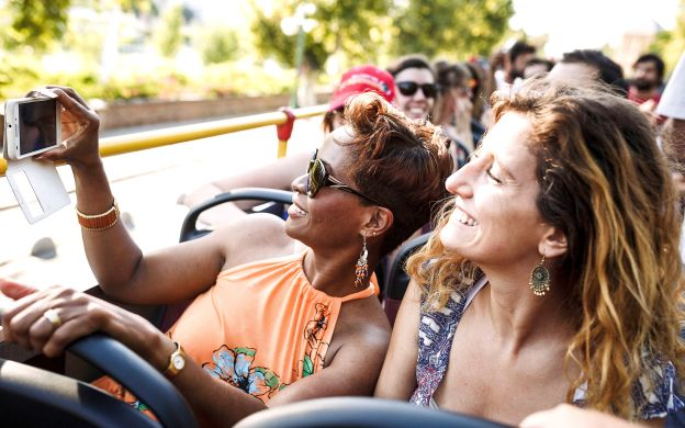 City Sightseeing Rome: Hop-On, Hop-Off Bus + St. Peter's Basilica Ticket