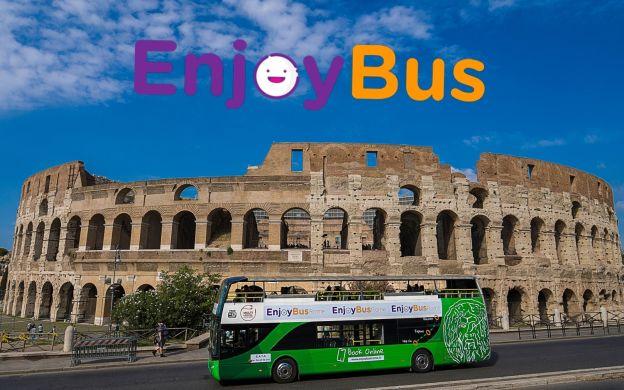 EnjoyBus Rome: Hop-On, Hop-Off Bus