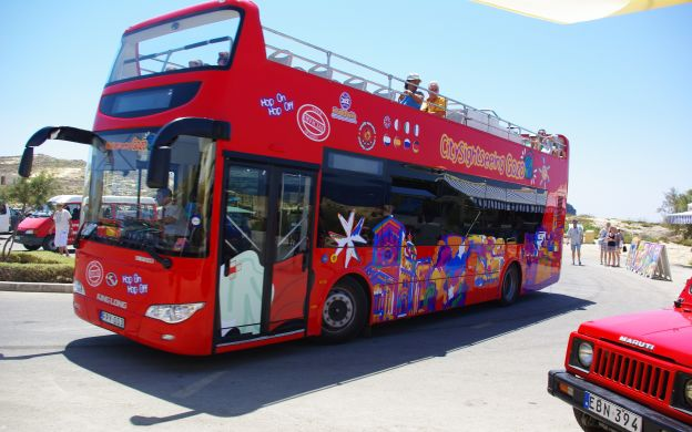 City Sightseeing Gozo: Hop-On, Hop-Off Tour