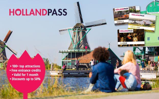 Holland Pass: Van Gogh Museum, Artis Royal Zoo, Madame Tussauds, Heineken Experience & More!