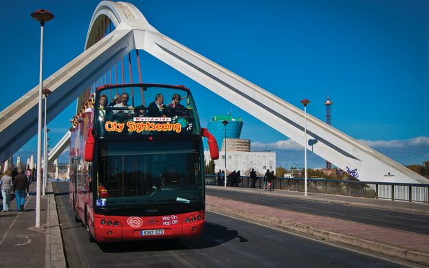 City Sightseeing Seville: Hop-On, Hop-Off Bus Tour