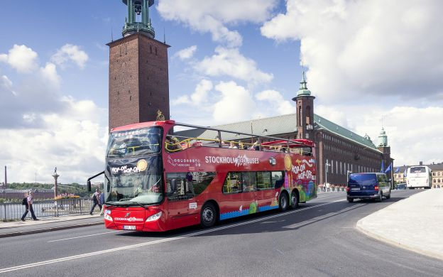 Red Sightseeing Stockholm: Hop-On, Hop-Off Bus and Boat Tour