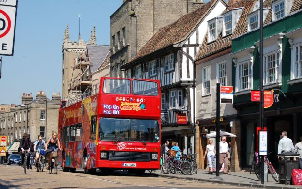 City Sightseeing Cambridge: Hop-On, Hop-Off Tour