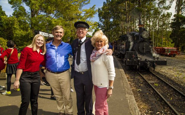 Puffing Billy Steam Train, Devonshire Tea & Healesville Wildlife with Return Hotel Transfers from Melbourne
