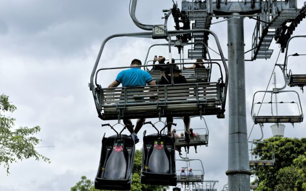 Sentosa Adventure Ride Tickets: Skyride and Luge - 2 rounds