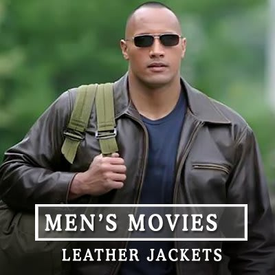 mens movies leather jackets