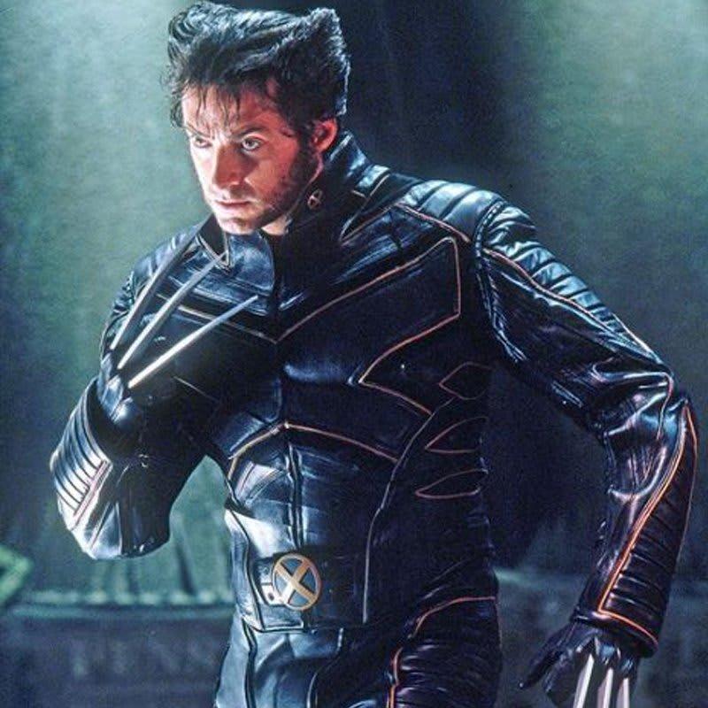 X-Men Origins Wolverine Black & Orange Leather Jacket