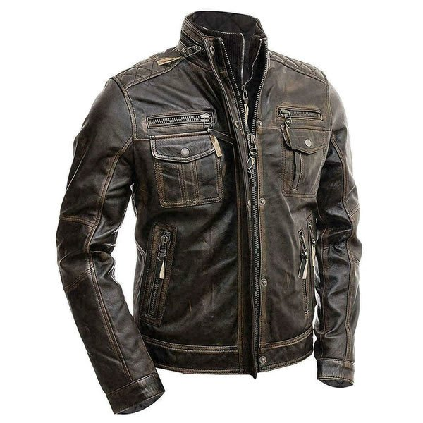 Men's-Modern-Retro-Double-Zipper-Brown-Distressed-Leather-Jacket-Online-At-Superstar-Jackets--8