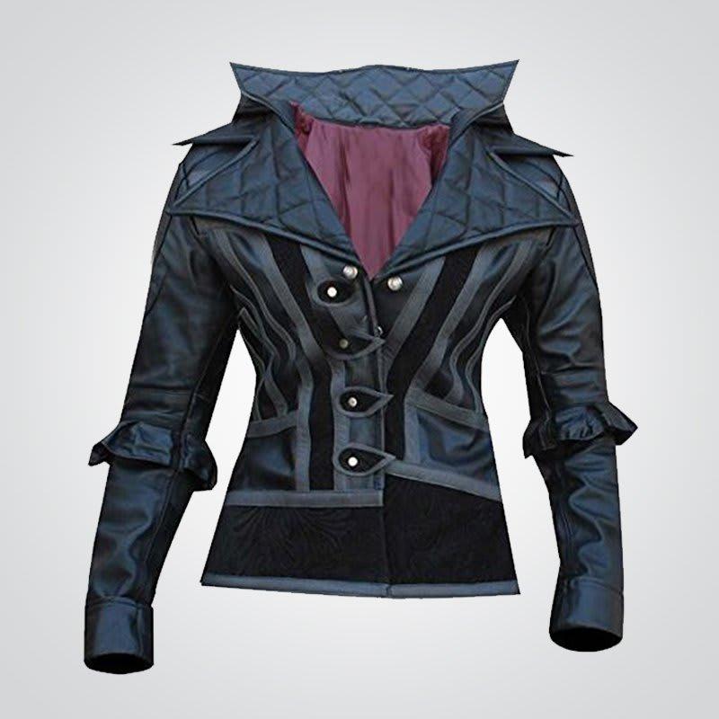 Evie-Frye-Cosplay Leather-Coat